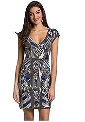 Sequin Short Dress