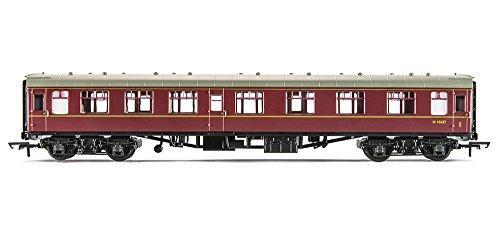 Rail Road Diecast Model Br Mk1 Corridor Composite Coach Br Maroon ()