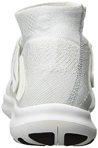 Free 2017 Blanco Nike pure Rn white W Zapatillas Para Fk Platinum 5 Trail wolf Motion 40 Eu De Mujer Grey 100 volt Running F7FCqyg5