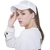 Sven Home Breathable mesh Ponytail Women's Summer Outdoor Sport Baseball Hat Golf Running Fishing Visor Sun Cap