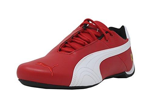 PUMA Men's Ferrari Future Cat OG Sneaker,Rosso Corsa White Black,11 M (Puma Mens Ferrari)