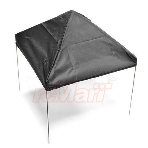 Xtra Speed 1//10 Scale Fabric Canopy Pit Tent Black for RC Car #XS-58238BK