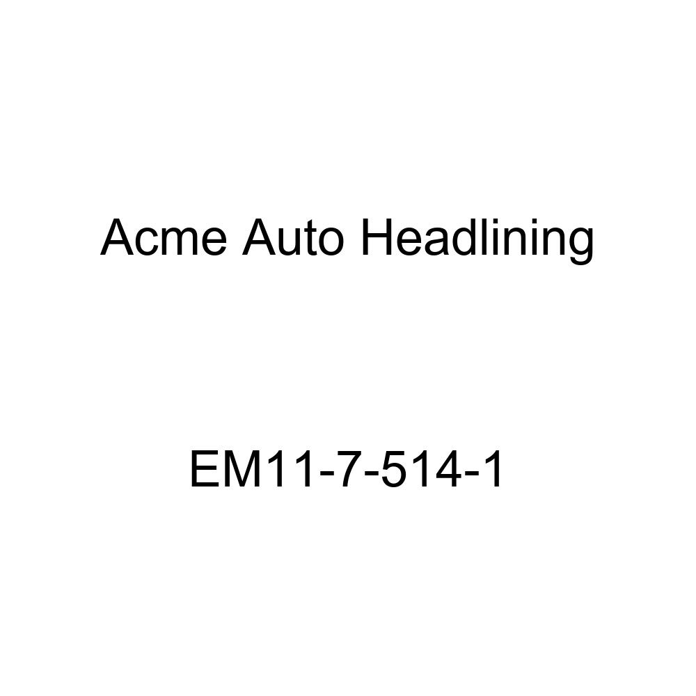 1940 Buick Series 40 2 Door Coupe - 5 Bows Acme Auto Headlining EM11-7-514-1 Light Green Replacement Headliner