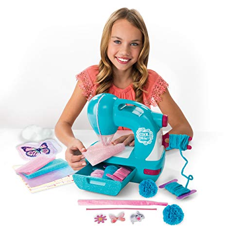 Cool Maker Sew N Style Kids Sewing Machine with Pom Pom Maker Attachment (Edition May Vary)