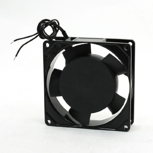 UXcell Axial Flow Metal Cooler Cooling Fan, AC 220-240V, ...