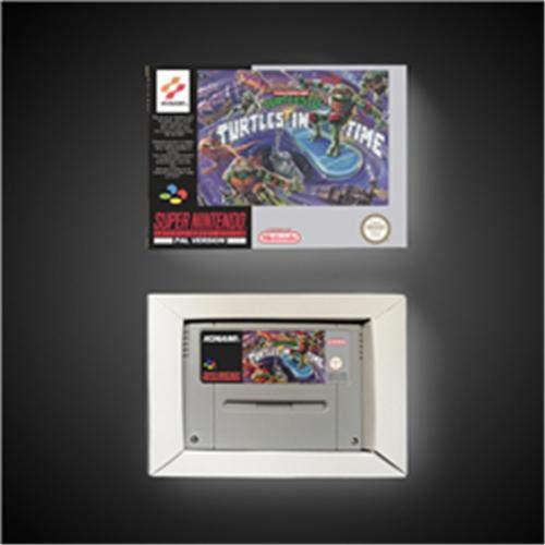 Amazon.com: Game Card Teenage Mutant Ninja Turtles IV Turtle ...