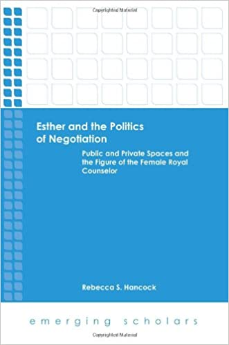 Book Esther and the Politics of Negotiation (Emerging Scholars)