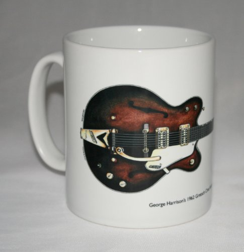 Guitar Mug. George Harrison's 1962 Gretsch Chet Atkins Country Gentleman. -