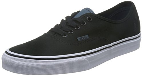 Vans Authentic Slim, Unisex Adults' Low-Top Sneakers Black/Dark Slate