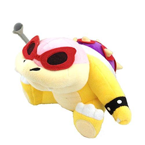 Super Mario Bros Roy Koopa Soft Plush Toy Bully Koopalings Stuffed Animal 6.5