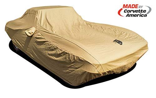1963-1967 Corvette Car Cover, Premium, Flannel Tan ()