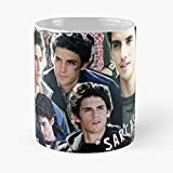 Jess Mariano Milo Ventimiglia Literati Gg - Coffee Mugs Unique Ceramic Novelty Cup Best Gift