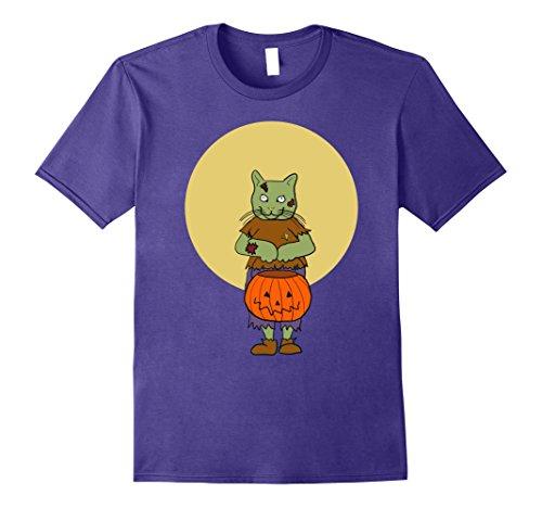 Mens Halloween Kitty Cat in Zombie Costume Medium (Cat Zombie Halloween Costume)