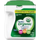 Similac Advance Organic Powder Baby Formula, 34 oz. x2 AS