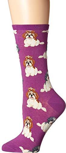 Socksmith Women's I Shih Tzu Not Purple One Size