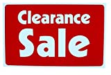 1-Pc Super Popular Clearance Sale Sign Promotion Information Business Size 7