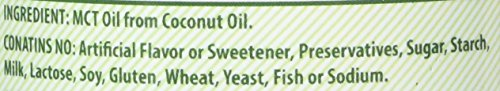 Herbal Secret 100% Pure MCT Oil, 16 Fl Oz - Helps in Weight Management * Maintain Lean Muscle Tissue* by Herbal Secrets (Image #2)