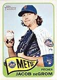 #10: 2014 Topps Heritage Baseball #H549 Jacob deGrom Rookie Card
