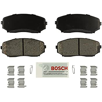 Front /& Rear Ceramic Brake Pad /& Hardware Ford Edge Lincoln MKX Mazda CX-7 CX-9