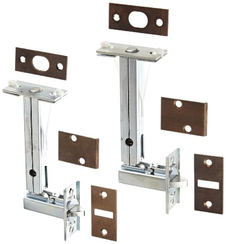 (Rockwood 2962.10B Automatic Flush Bolt Set for Fire Rated Wood Core & Composite Doors, 1-1/8