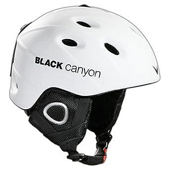 Black Canyon Zermatt - Casco de esquí, color blanco mate blanco (weiss) Talla
