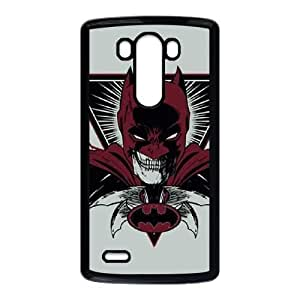 Cute TPU Case Batman Red Cape LG G3 Cell Phone Case Black