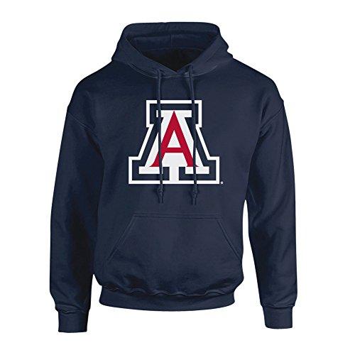 (Elite Fan Shop Arizona Wildcats Hooded Sweatshirt Icon Navy -)