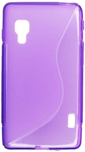 MDA TPULGL5IIE460ROS - Funda para LG Optimus L5 II E460 (silicona), color rosa morado
