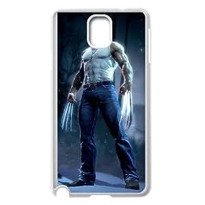 Wolverine Samsung Galaxy Note 3 Cell Phone Case White NRI5056754