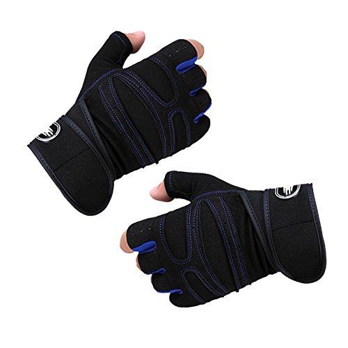 Exercice Onever Bodybuilding Noir M Femmes Et Entranement Gants Cyclisme Physique Bleu Hommes Gymnastique Fonc De rYrO1