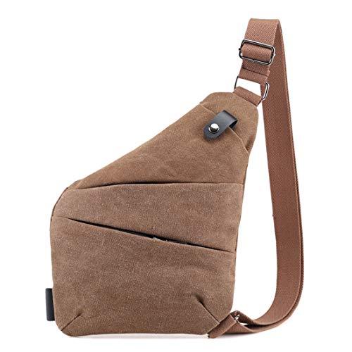 Pecho Khaki Antirrobo Para Bag Shoulder Sling color Crossbody Mochila Cvthfyky Khaki Hombres Bolsas Mujeres 7HqITwyx