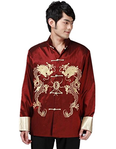 shanghai-story-double-dragon-embroidery-mens-chinese-traditional-tang-suit-kung-fu-shirt-2xl-red