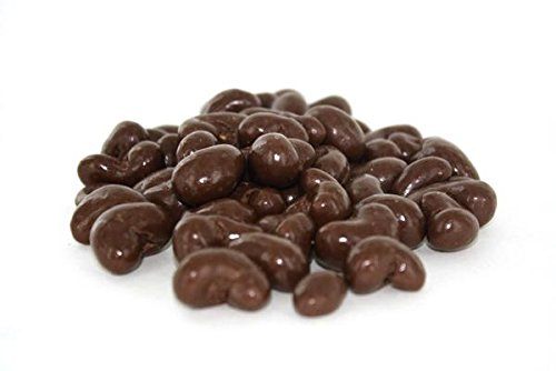 Gourmet Dark Chocolate Covered Cashews by Its Delish, 1 lb