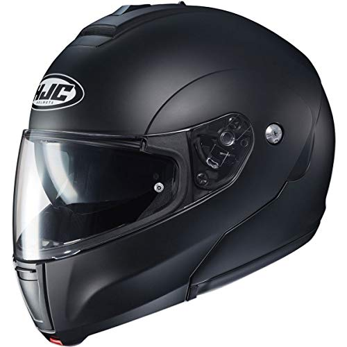 - HJC CL-Max 3 Men's Snowmobile Helmet - Semi-Flat Black/X-Large