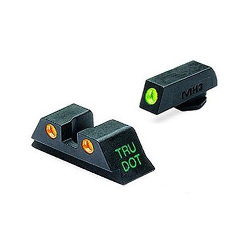 Meprolight 1001923 Glock 9/357/Sig/40/45GAP G/O Fixed Set TD by Meprolight