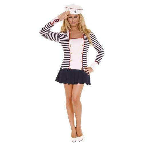 Elegant Moments Sailor Md Size 6-10 Costume