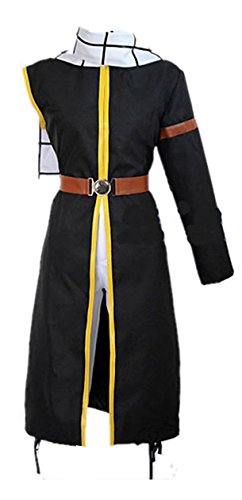 Fairy Tail Natsu Costume Dragneel Cosplay Outfit Scarf