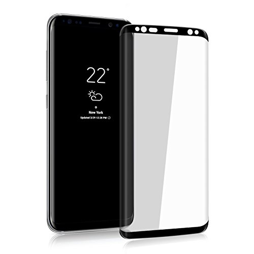 Galaxy S8 Plus HD Screen Protector, VitaVela [3D Curved] [Case Friendly] [Anti-Scratch] 9H Hardness Tempered Glass Screen Protector,for Samsung Galaxy S8 Plus/ S8+ (6.2
