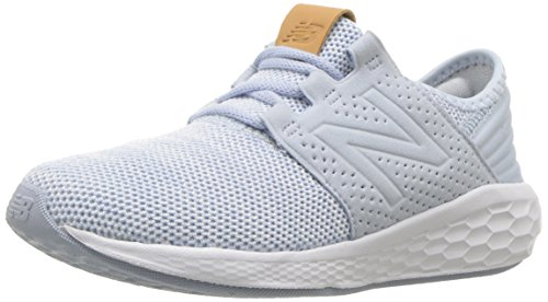 New Balance Girls' Cruz V2 Fresh Foam Running Shoe, ice Blue, 3 M US Little Kid