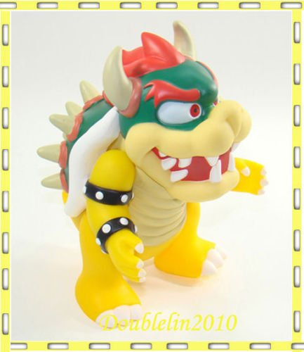 [SUPER MARIO BROTHERS MOVABLE FIGURE FIGURINE BOWSER 4