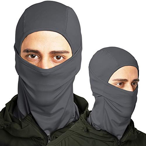 Tough Headwear Balaclava - Windproof Ski Mask - Cold Weather Face Mask for Skiing, Snowboarding, Motorcycling & Winter Sports. Ultimate Protection from The Elements. Fits Under Helmets