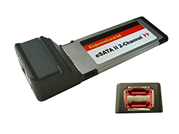 EXPRESSCARD - 2 x ESATA tarjeta controladora: Amazon.es ...