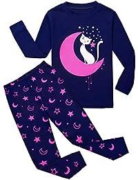 Girls Pajamas Kids Toddler Girl Clothes Mermaid Pjs Set Toddler Clothes Flamingo Sleepwear