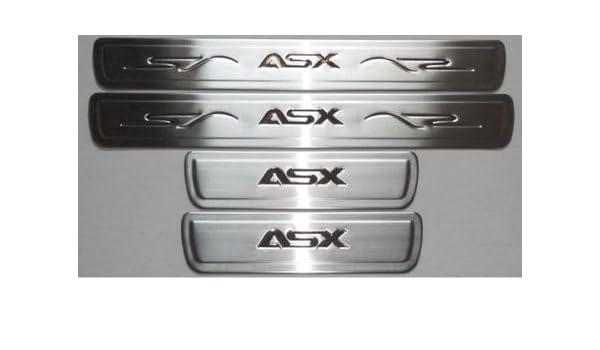 B-Ware - Accesorios para Mitsubishi ASX einstiegs listones Acero Inoxidable: Amazon.es: Coche y moto