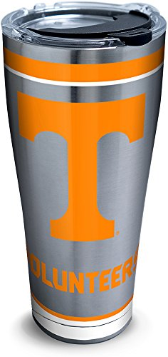 Tervis 1297981 Tennessee Volunteers Tradition Insulated Travel Tumbler with Lid 30oz - Stainless Steel, - Tumblers Collegiate