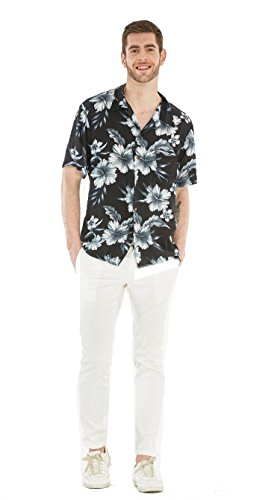 Hawaii Hangover Mens Hawaiian Shirt Aloha Shirt Midnight Bloom