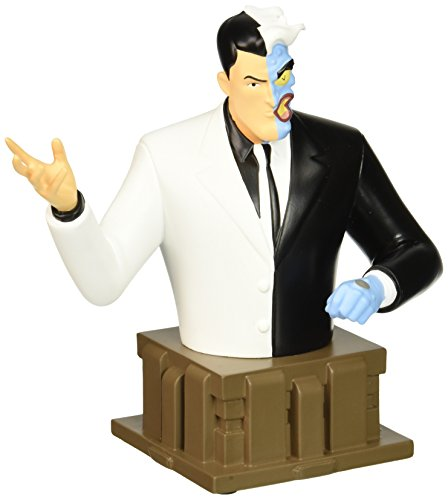Batman: The Animated Series: Two-Face Resin Bust Statue ()