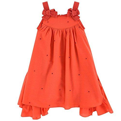 Catimini Asymmetrical Dress With Fancywork by Catimini