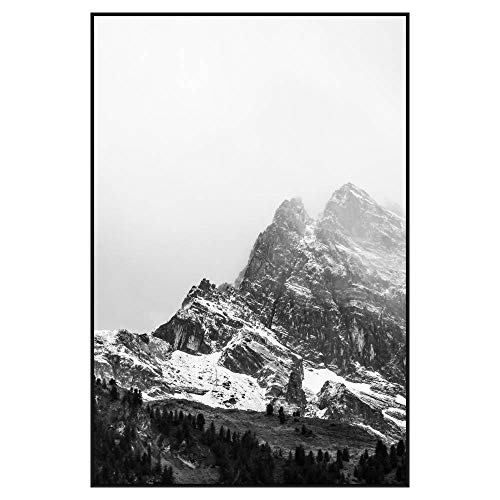(Frame It Easy 30 x 45 Satin Black Metal Frame Profile #93)