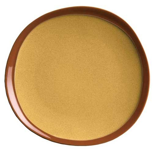 Syracuse China Terracotta Mustard Seed Plate, 9 inch -- 12 per case.